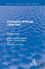 Formative Writings