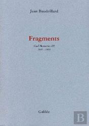 Fragments ; Cool Memories T.3 (1991-1995)