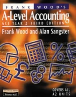 Bertrand.pt - Frank Wood'S A-Level Accounting