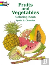 Fruits And Vegetables Colouring Boo