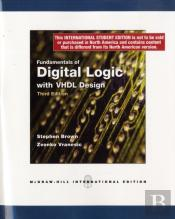 Fudamentals Of Digital Logic With Vhdl Design