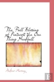 Full Blessing Of Pentecost The One Thing Needfull