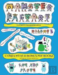 Fun Sheets For Kindergarten (Cut And Paste Monster Factory - Volume 3)