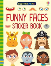Funny Faces Sticker Book X 5 Pack