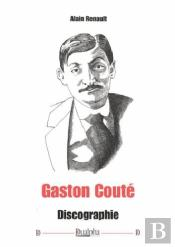 Gaston Coute - Discographie