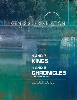 Bertrand.pt - Genesis To Revelation: 1 And 2 Kings, 1 And 2 Chronicles Leader Guide