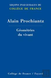 Géométries Du Vivant