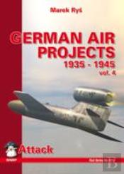 German Air Projects 1935-1945bombers
