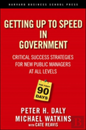 Getting Up To Speed In Government: