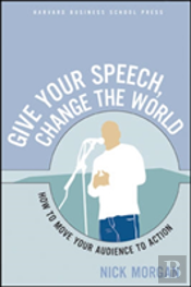 Give A Speech, Change The World