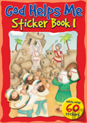 God Helps Me Sticker Bk 1
