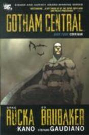 Gotham Central Hc Vol 04 Corrigan