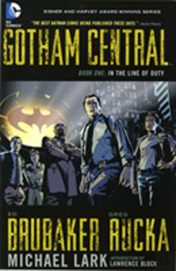 Bertrand.pt - Gotham Central Tp Book 01 In The Line Of Duty