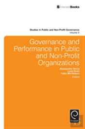 Governance And Performance In Public And Non-Profit Organizations