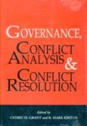 Governance, Conflict Analysis And Conflict Resolution