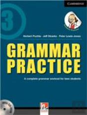 Grammar Practice Level 3 Paperback With Cd-Rom