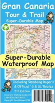Gran Canaria Tour & Trail Super-Durable Map 5th Edition