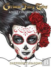 Grimm Fairy Tales Adult Coloring Book Halloween Edition