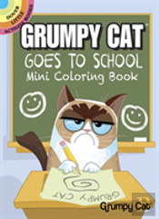 Grumpy Cat Goes To School Mini Coloring Book