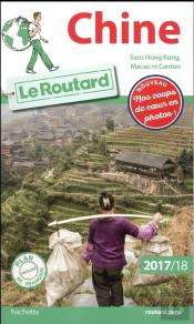 Guide Du Routard Chine 2017/18