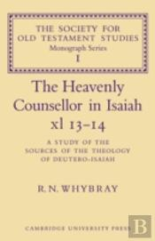 Heavenly Counsellor In Isaiah Xl 13-14