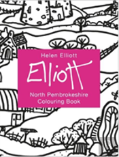 Helen Elliott Concertina Colouring Book: North Pembrokeshire