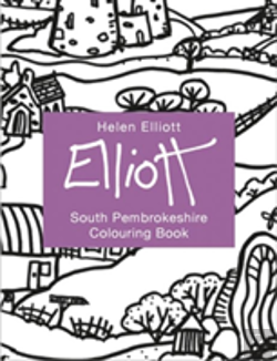 Bertrand.pt - Helen Elliott Concertina Colouring Book: South Pembrokeshire