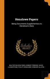 Henslowe Papers