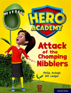Bertrand.pt - Hero Academy: Oxford Level 7, Turquoise Book Band: Attack Of The Chomping Nibblers