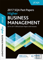 Higher Business Management 2017-18 Sqa Past Papers With Answers