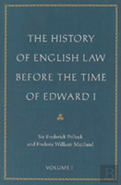 History Of English Law Before The Time Of Edward I