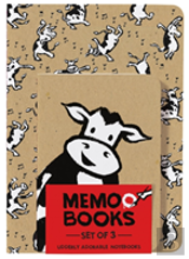 Holy Cow: Memo Books (Set Of 3 Notebooks)