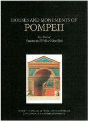 Houses And Monuments Of Pompeii