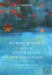 Human Rights Under The Australian Constitution