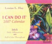 I CAN DO IT 2007 CALENDAR