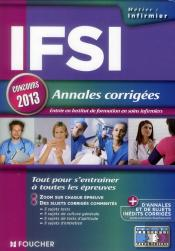 Ifsi Annales Corrigees Concours 2013