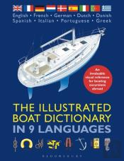 Illustrated Boat Dictionary In 9 Languages