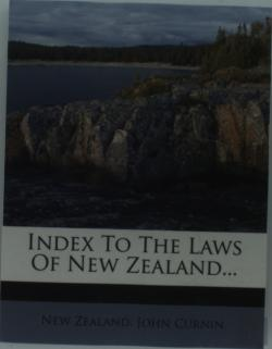 Bertrand.pt - Index To The Laws Of New Zealand...