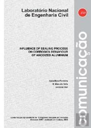 Influence of sealing process on corrosion behaviour of anodized aluminium