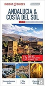 Insight Travel Map Andalucia & Costa Del Sol