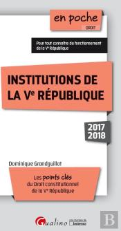 Institutions De La Ve Republique 9eme Edition