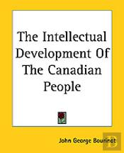 Intellectual Development Of The Canadian People