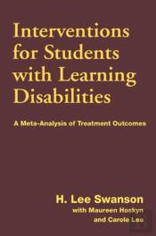 Interventions For Students With Learning Difficulties