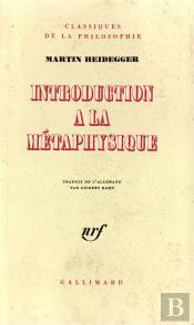 Introd A La Metaphysiqu