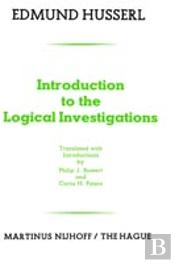 Introduction To The Logical Investigations