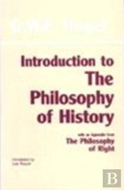Introduction To The 'Philosophy Of History'