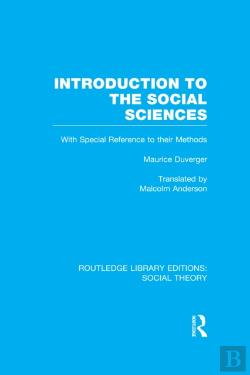 Bertrand.pt - Introduction To The Social Sciences (Rle Social Theory)
