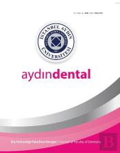 Istanbul Aydin University Journal Of The Faculty Of Dentistry