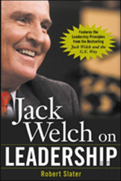 JACK WELCH ON LEADERSHIPABRIDGED FROM 'JACK WELCH AND THE GE WAY'