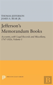 Jefferson'S Memorandum Books